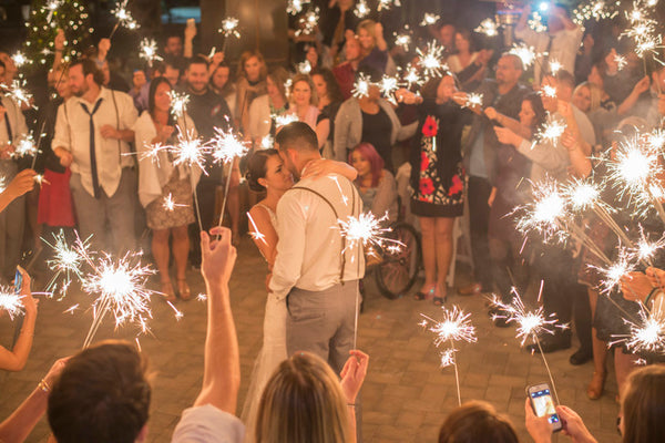 First Dance With Sparklers Vip Sparklers
