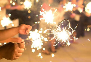 Heart Sparklers: A Wedding Favor Hit!