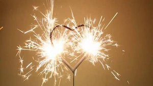 Add an Intimate Detail to Your Wedding With Our Heart Shaped Sparklers