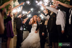 Must-Do's for Wedding Sparkler Exits