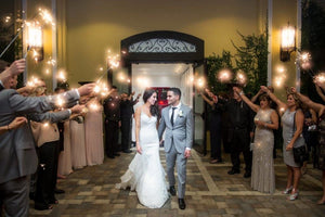 Rudnet Wedding Sparkler Story