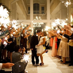 7 Tips for Buying and Using Big Wedding Sparklers