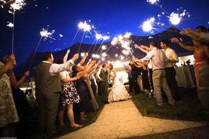 Wedding Sparklers: A Unique Wedding Photography Prop