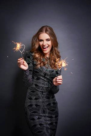 Indoor Smokeless Heart Shaped Sparklers