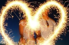 Show Love with your Heart Shaped Wedding Sparklers