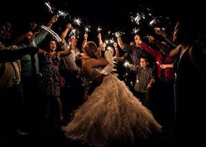Why are Wedding Sparklers So Popular?