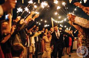 Lighting Wedding Sparklers