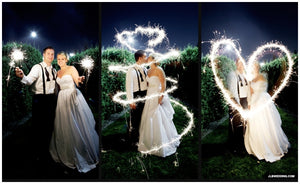 Wedding Sparkler Tips For Photography