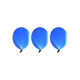 Blue LED Balloons