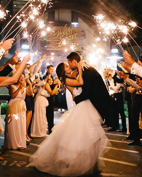 Wedding Sparklers Best Sparklers For Weddings Free Shipping Vip Sparklers
