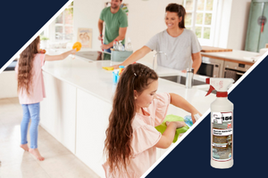 Best natural stone cleaners for everyday use. Professional grade products that clean and shine granite, marble, and tile surfaces.