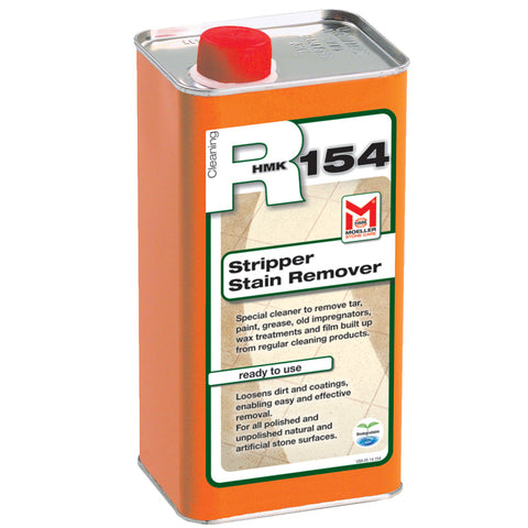 HMK R154 Stripper and Stain Remover for stone 1-Liter Unit