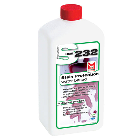HMK S232 Water Based Stone Impregnating Sealer 1-liter unit