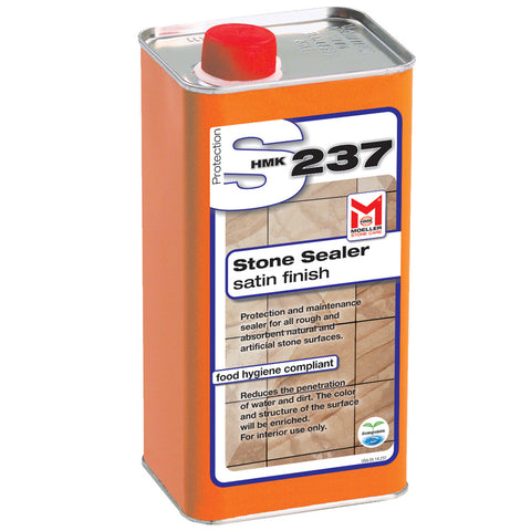 HMK S237 Acrylic Topical Stone Sealer Satin finish 1-liter unit