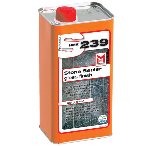 HMK S239  Acrylic High Gloss Topical Stone Sealer 1-liter unit