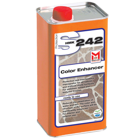 HMK S242 Color Enhancing Impregnating Sealer for Stone 1-liter unit