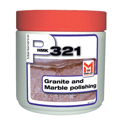 HMK P321 Marble and granite polishing paste half liter unit