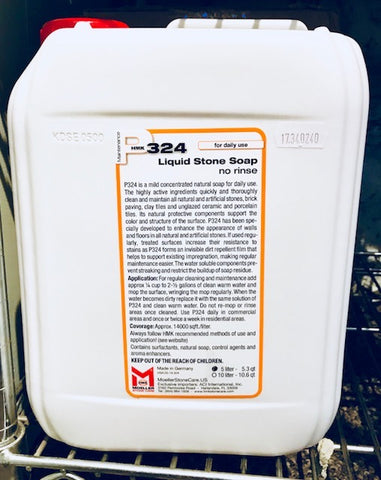 HMK P324 Liquid Stone Soap  5-Liters Unit