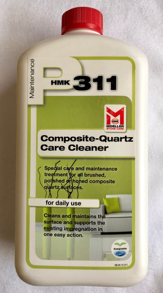 daily quartz maintenance cleaner. HMK P311 concentrated daily cleaner for quartz countertop surfaces