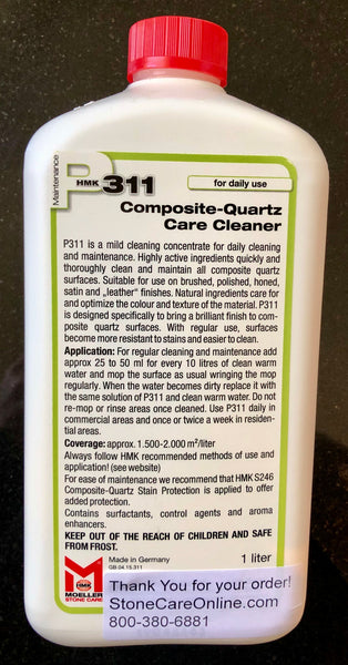 product description for daily quartz countertop cleaner concentrate from stone care online