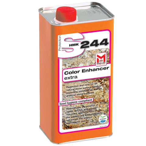HMK S244 Color Enhancing Stone Impregnating Sealer with Extra Stain Protection 1-liter unit