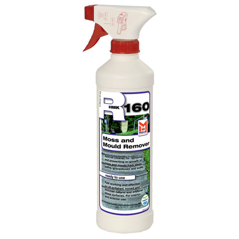 HMK R160 Moss and Mildew Remover for stone half liter spray bottle