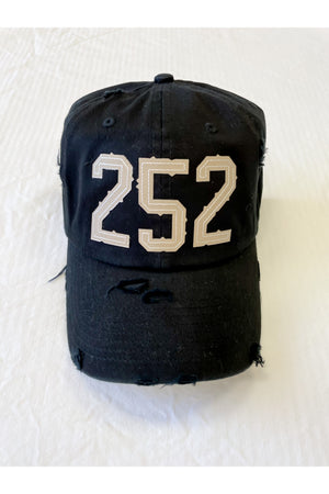 252 Ball Cap (black)
