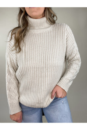 Logan Turtle Neck Sweater