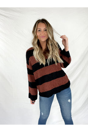 You're the One Stripe Sweater