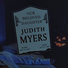 RIP JUDITH MYERS Enamel Pin - Nightmare on Film Street Horror Merch