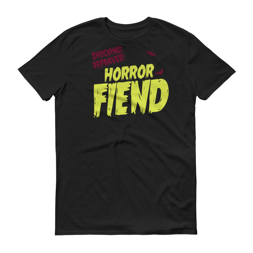 HORROR FIEND Tee - Unisex - Nightmare on Film Street Horror Merch