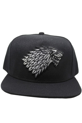 Game of Thrones GoF Stark Hut Cap House Stark of Winterfell Haus Stark von Winterfell