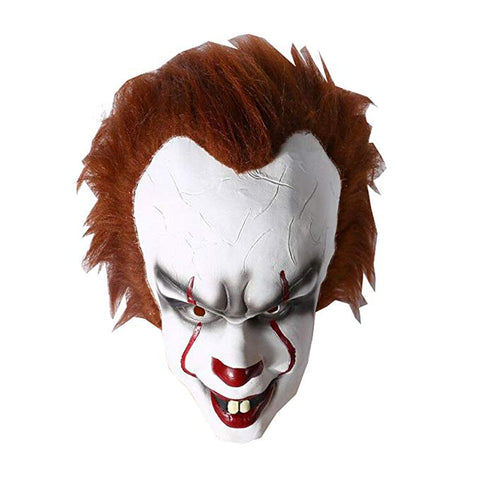 Halloween Latex The Clown Cosplay Maske IT Pennywise Maske