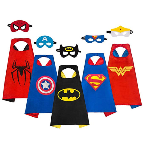 Marvel Superhero Dress Up Costumes for Kids Capes Costume