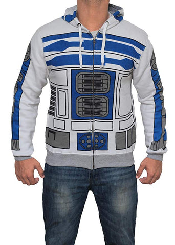 STAR WARS EPISODE VII: THE FORCE AWAKENS BB-8 Hoodie mit Kaputze Reißverschluss