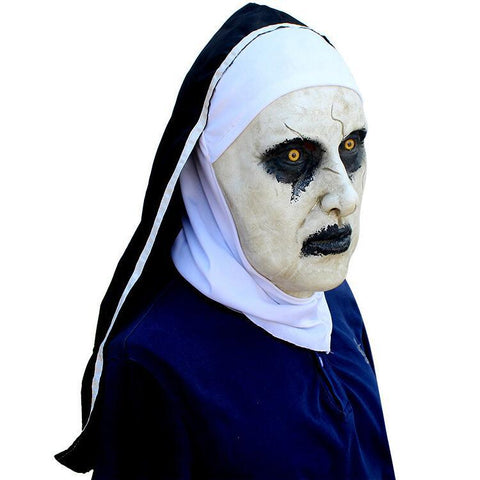 The Conjuring 2 Devil Nun Teufel Maske mit Wimple Cosplay Requisite Halloween Karneval