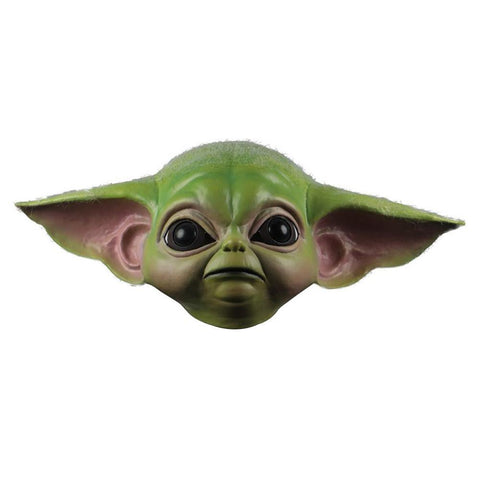 Baby Yoda The Mandalorian Yoda Maske Latex Party Cosplay Maske Erwachsene