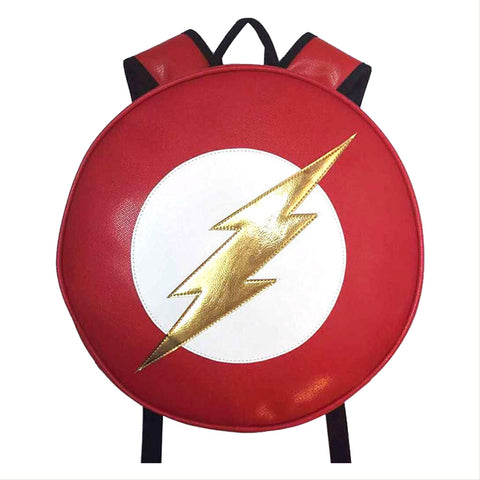 DC comic The Flash Backpack Kinderrücksacke für 1-5 jahrige Runde