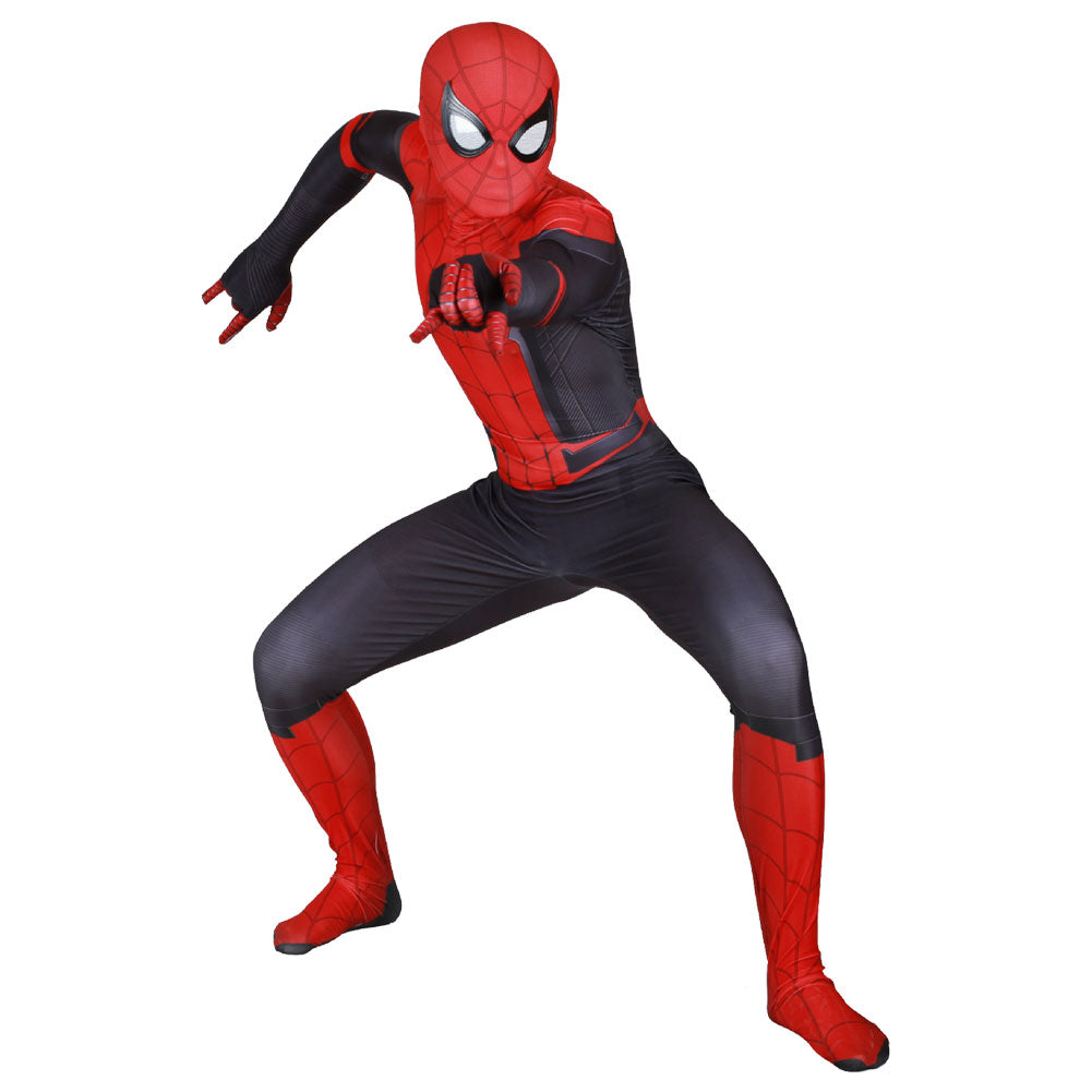 jungen spider man far from home peter jumpsuit erwachsene. Black Bedroom Furniture Sets. Home Design Ideas