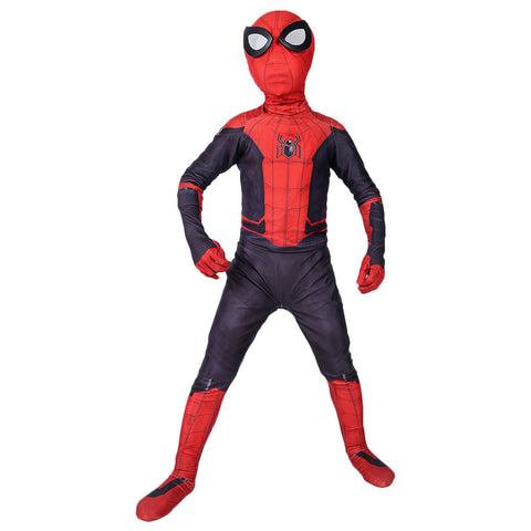 Jungen Spider-Man: Far From Home Peter Jumpsuit Kinderkostüm Karneval Mottoparty