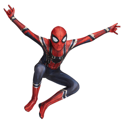 Kinder Spider-Man Iron spider Peter Parker Avengers Infinity War Jumpsuit für Kinder Cosplay Kostüm
