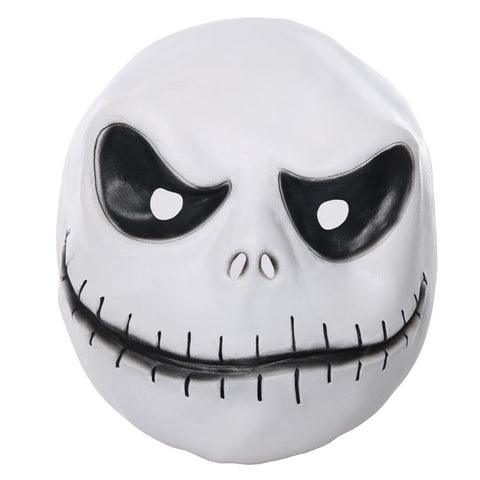 Kürbiskönig Jack Skellington Maske The Nightmare Before Christmas Der Albtraum vor Weihnachten Party Cosplay Latex Maske