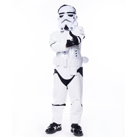 Star Wars The Force Awakens Storm Troopers Kinderkostüm für Karneval Mottoparty Cosplay Jungen