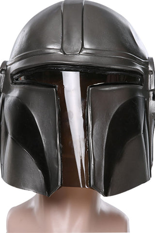 Star Wars The Mandalorian Maske Cosplay Requisite Maske Erwachsene für Halloween Karneval