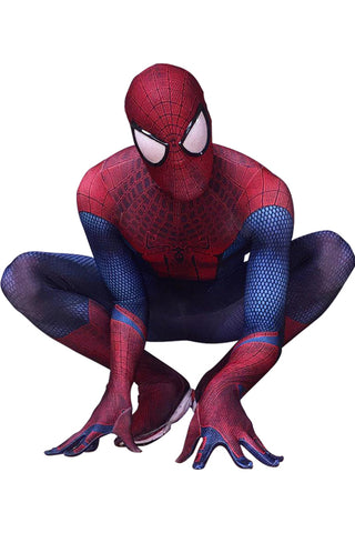 Superhelden Spiderman The Amazing Spider-Man Kostüm Jumpsuit Herren Erwachsene
