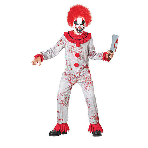 Halloween Karneval Jungen Clown Pennywise Clown Cosplay Kostüm Kinder Kostüm