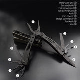 Stainless Steel Multifunctional Pliers -  - TheToolKit Outdoor Survival Gear and Equipment