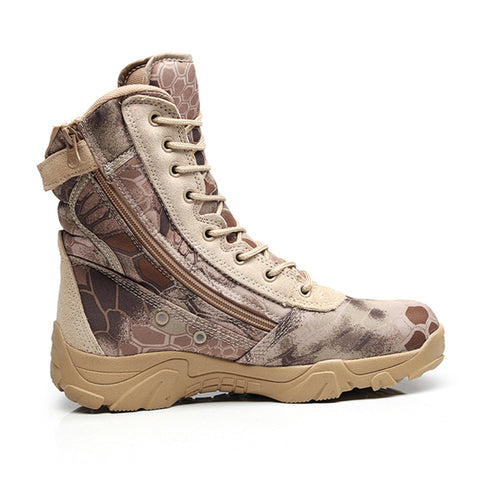 Men's Military Weatherproof Tactical Boots -  - TheToolKit Outdoor Survival Gear and Equipment