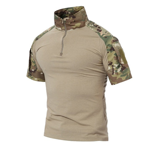 Camouflage Short Sleeve -  - TheToolKit Outdoor Survival Gear and Equipment