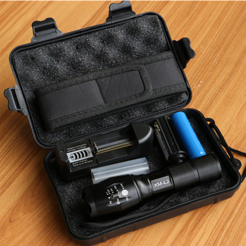 LED Tactical Flashlight (8000 Lumens) - TheToolKit
